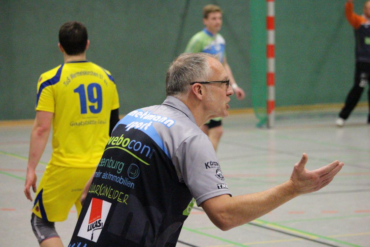 Trainer Jürgen Tiedermann.  Archivfoto. TME