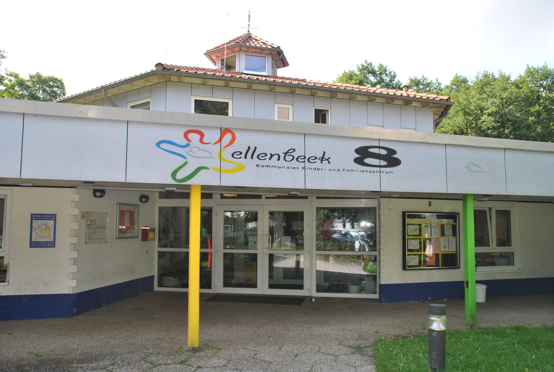 Ein Gütesiegel für das Familienzentrum Ellenbeek. Foto: TME