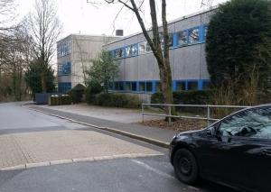 Die Goethestraße im Bereich der Realschule. Foto: Archiv TME