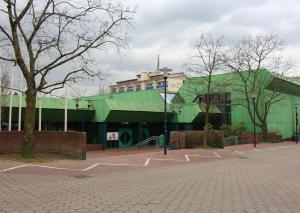 Die Mettmanner Stadthalle. Foto: TME