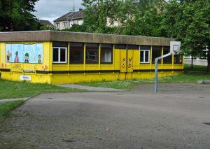 Der Pavillon am Gymnasium. Foto: TME