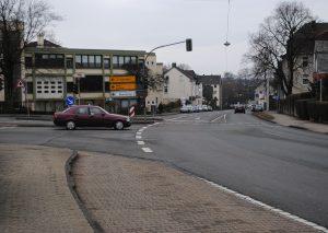Der Kreuzungsbereich. Foto: TME