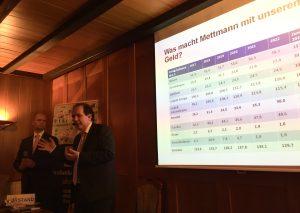Eberhard Kanski, stellvertretender Vorsitzender des Bundes der Steuerzahler NRW, war 2019 zu Gast in Metzkausen. Foto: TME