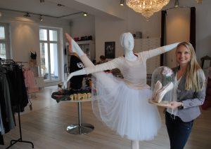 Jana Sonnen in ihrem neuen Ladenlokal an der Orthsgasse. Foto: TME