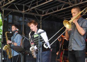 Tom Waters und seine Freunde spielten am gestrigen Abend. Foto: TME