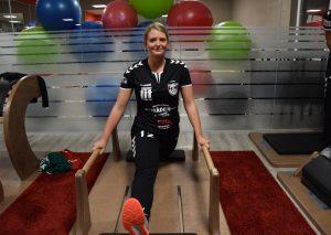 TBW-Keeperin Lisa Klanz. Foto: TME