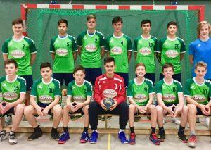 Die C-Jugend von ME-Sport. Foto: Verein