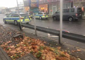 Der dm-Markt an der Alten Ratinger Landstraße war heute Morgen Ziel eines Überfalls. Foto: privat