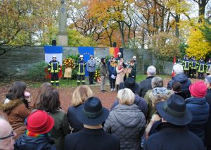 Volkstrauertag: Gedenkfeier in Metzkausen. Foto: TME