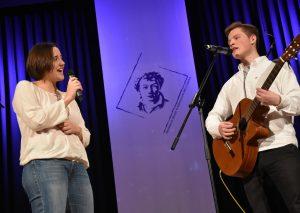 Helena Sonneson und Bendeikt Jeschek verzauberten das Publikum mit ihrem Duett. Foto: HHG