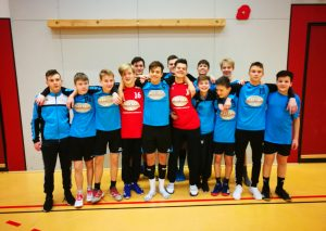 Die C-Jungen von ME-Sport. Foto: Verein