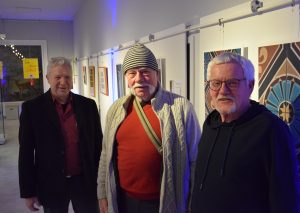 v.l.: Fritz Reich, Peter Delvos und Burkhard Rüdiger. Foto: TME