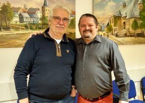 Manfred Bolz (l.) und Karsten Schneider. Foto: CDU-Velbert