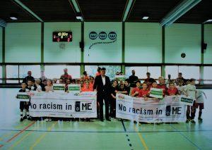 Siegerehrung mit Kreisdirektor Martin Richter. Foto: KSB