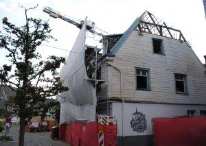 Die Alte Posthalterei wird nun abgerissen. Foto: TME