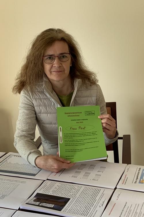 Annette Droste, Leiterin des Johanneshauses.