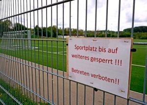 Die Sportplätze in Mettmann werden ab kommender Woche wieder geöffnet