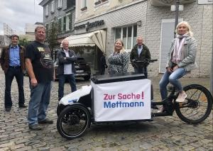 Sechs der neun Gründungsmitglieder (v.l.): Axel Ellsiepen, Rainer Dittel, Frank Runkel, Linda Neidel, Andreas Konrad und Dagmar Pape. Foto: TME