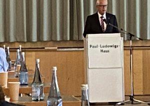 Schon in Wülfrath bei der dortigen CDU hatte Thomas Hendele den Wahlkampf eingeläutet. Foto: TME