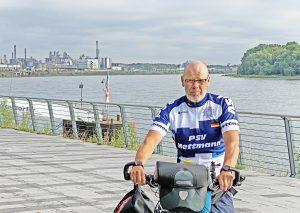 Frank Eigelshofen startet am Sonntag auf seine letzte Etappe. Foto: KPB Mettmann