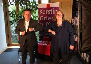 Der Minister und seine Staatssekreträrin: Hubertus Heil und Kerstin Griese. Foto: Büro Griese