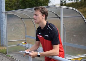 Leon Petereit vom FCW-Trainer-Team. Foto: TME