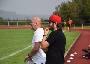 Trainer-Duo Goran Tomic und Julian Barbos. Foto: TME