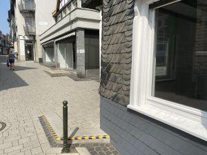 Leerstand in der Wülfrather Fußgängerzone. Foto: TME