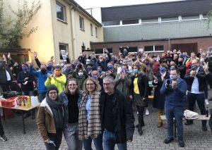Jubel bei den Pietschmanns und den Unterstützern. Foto: TME