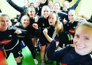 Sieger-Selfie in der Kabine / Foto ME-Sport