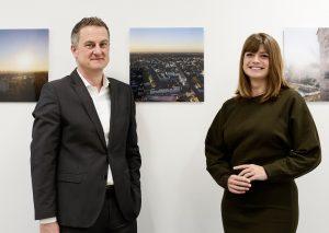 Tina Schmidt und Marcus Stimler. Foto: IHK