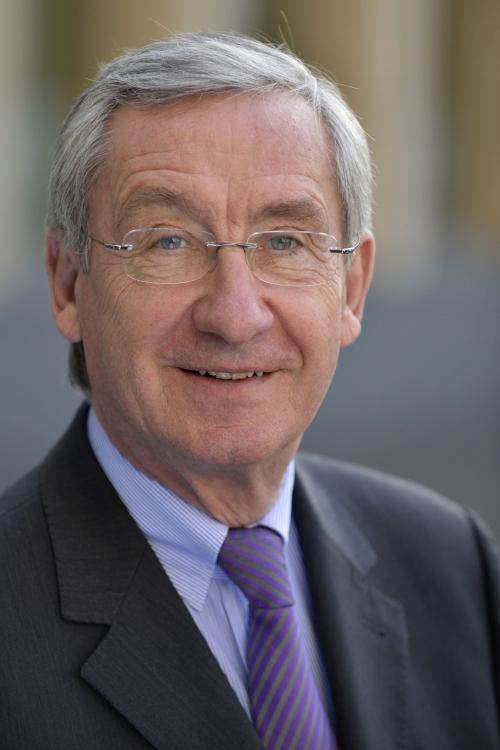 IHK-EhrenpräŠsident Prof. Dr. Ulrich Lehner. Foto: Werner Gabriel/IHK