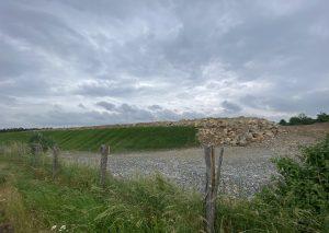 Die Halde Dachskuhke  am Silberberger Weg wächst. Dort könnte eine Bürgersolaranlage entstehen. Foto: TME