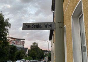 Der Ina-Seidel-Weg verbindet Mettmanner Straße und Ernst-Moritz-Arndt-Straße. Foto: TME