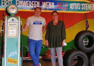 Christian Steinacker und Nicole Bauer. Foto: SPD