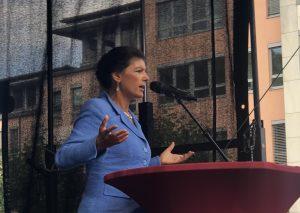 Sahra Wagenknecht. Foto: TME