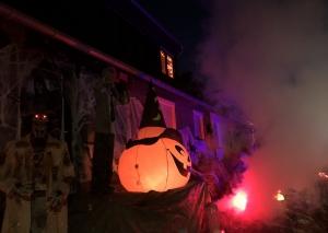 Das Halloweenhaus. Foto: TME